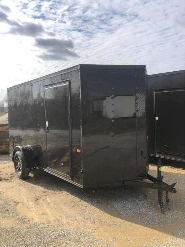 2020 Rock Solid 6 X 12 Enclosed Trailer