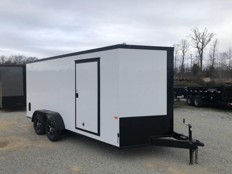 2020 Rock Solid Cargo 7' x 16' Tandem Axle Enclosed Cargo Trailer