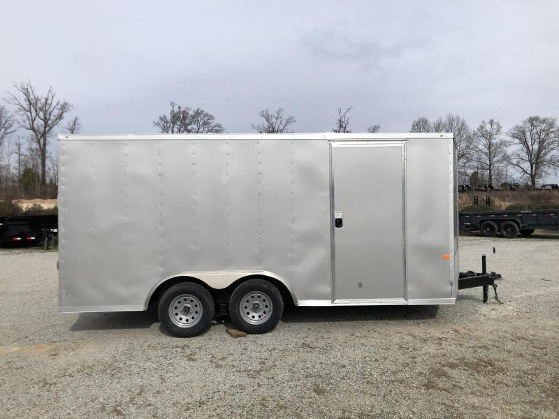 2020 Rock Solid Cargo 8.5' x 16' Enclosed Trailer