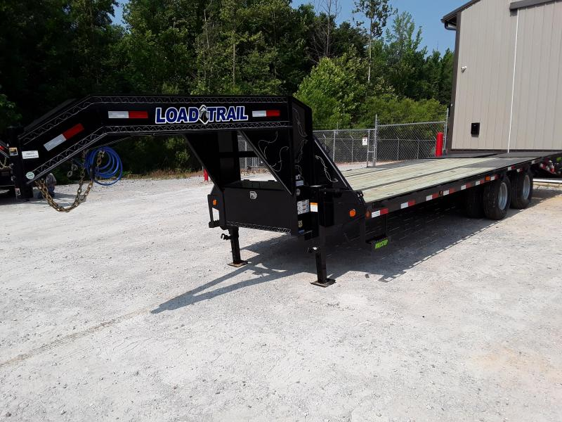 "2019 Load Trail 102"" X 25' Gooseneck Flatbed Trailer W 10000 Lb Axles"