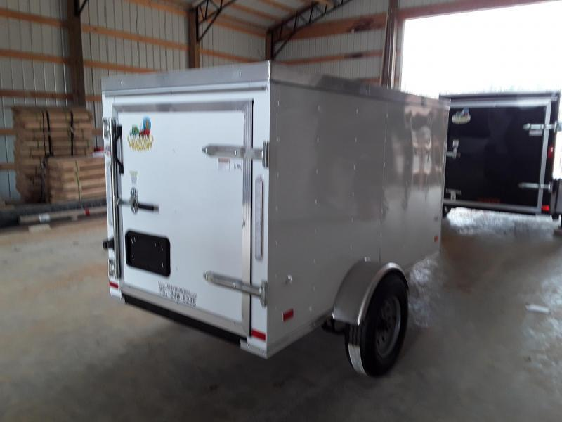 2020 Covered Wagon Trailers 4' X 8' SA Gold Enclosed Cargo Trailer