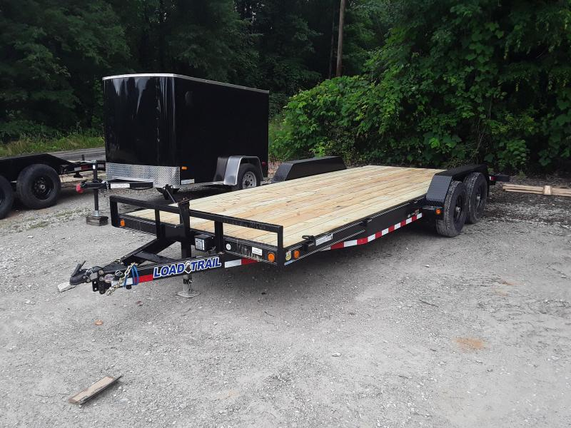 "2019 Load Trail 83"" X 20' Tandem Axle Carhauler / Equipment Trailer"