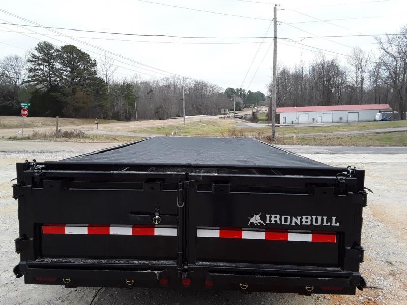 "2020 Iron Bull Dump Trailer 83"" x 14' W/ 2-7k Axles"