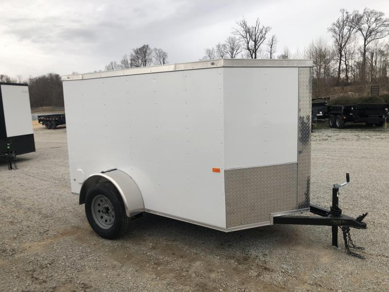 2020 Rock Solid 5' x 8' Single Axle Enclosed Trailer