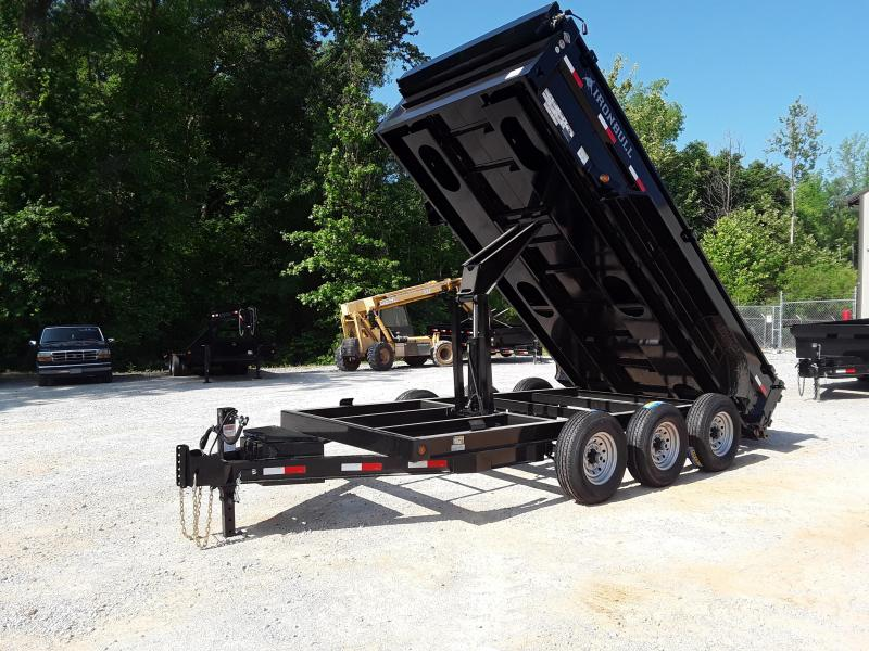 "2019 Iron Bull 83"" X 16' Dump Trailer W 3 7000 Lb Axles"