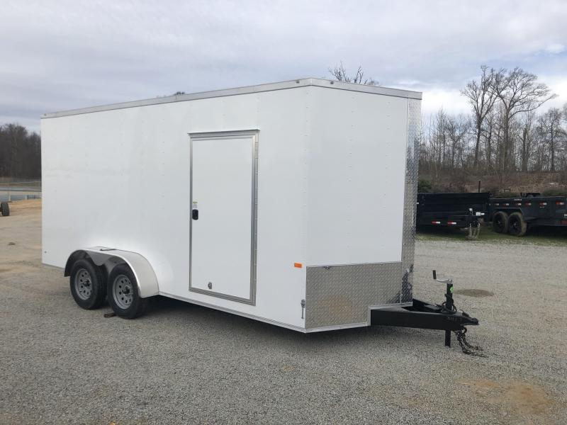 2020 Rock Solid 7 X 16 Enclosed Trailer