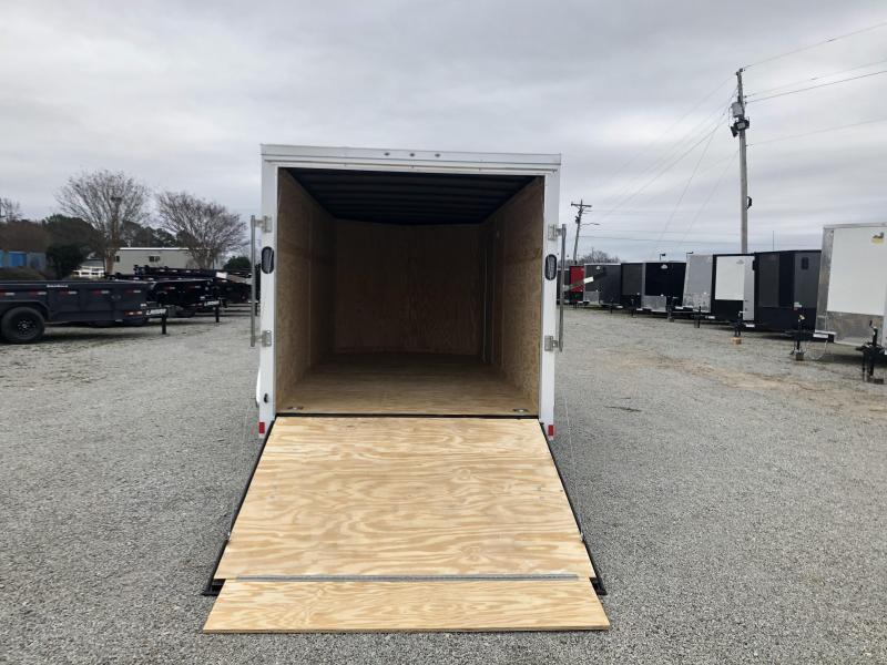 2020 Rock Solid Cargo 7' x 16' Tandem Enclosed Cargo Trailer
