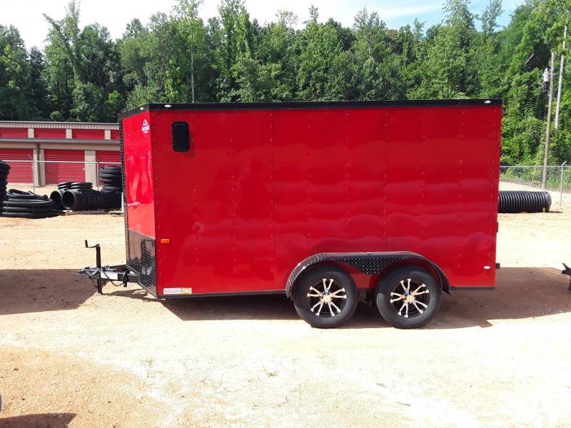 2019 Rock Solid Cargo 7' X 12' Enclosed Cargo Trailer
