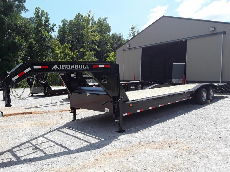 "2019 Iron Bull 102"" X 32' Gooseneck Equipment Trailer"