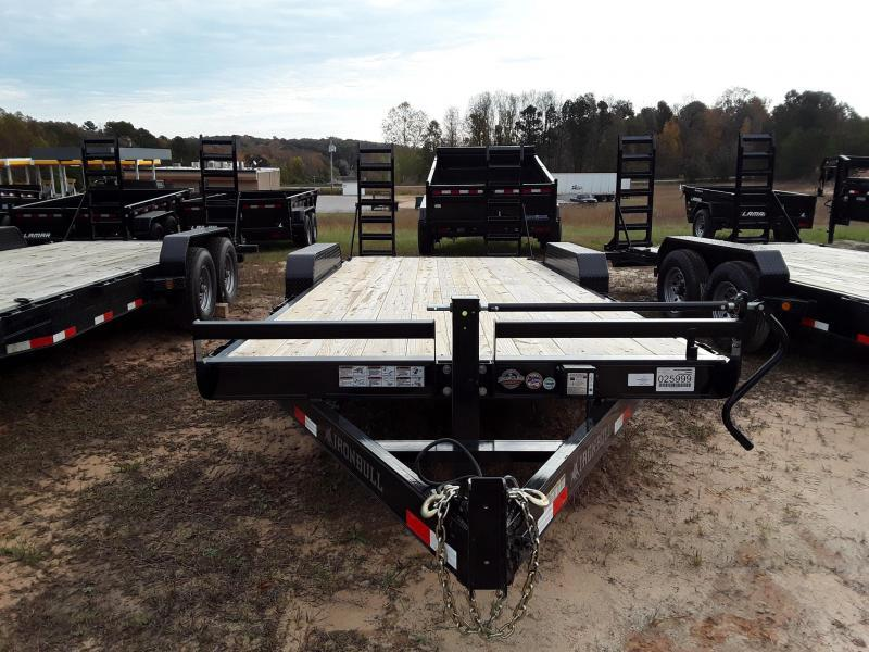 "2019 Iron Bull 83"" X 20' Equipment Trailer W 2 7000 Lb Axles"