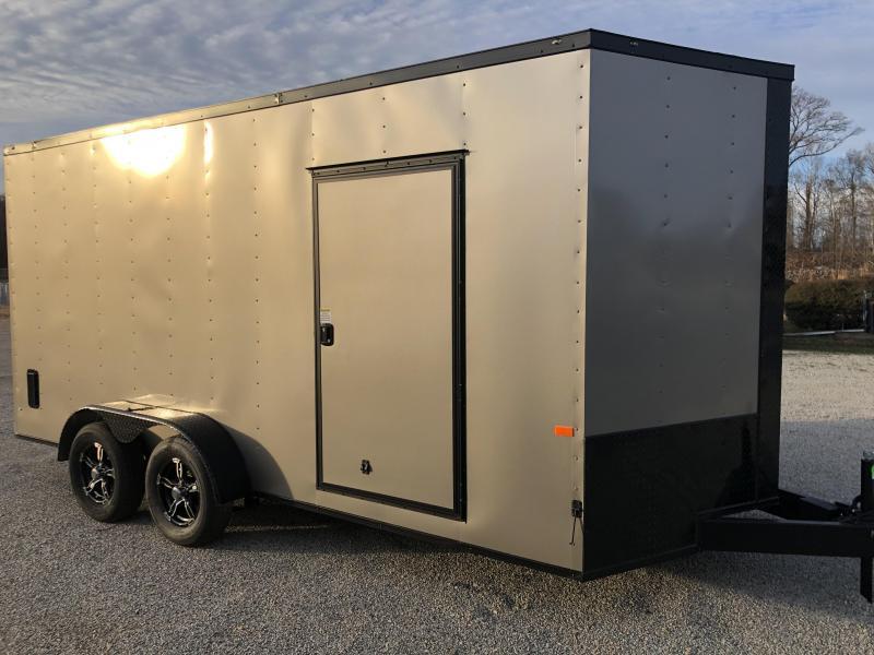2020 Rock Solid Cargo 7' x 16' x 7' Enclosed Cargo Trailer