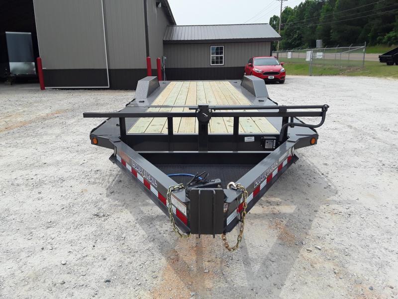 "2019 Load Trail 102"" X 22' Low Pro Tilt Equipment Trailer W 2 7000 Torsion Axles 10 Yr Warranty"