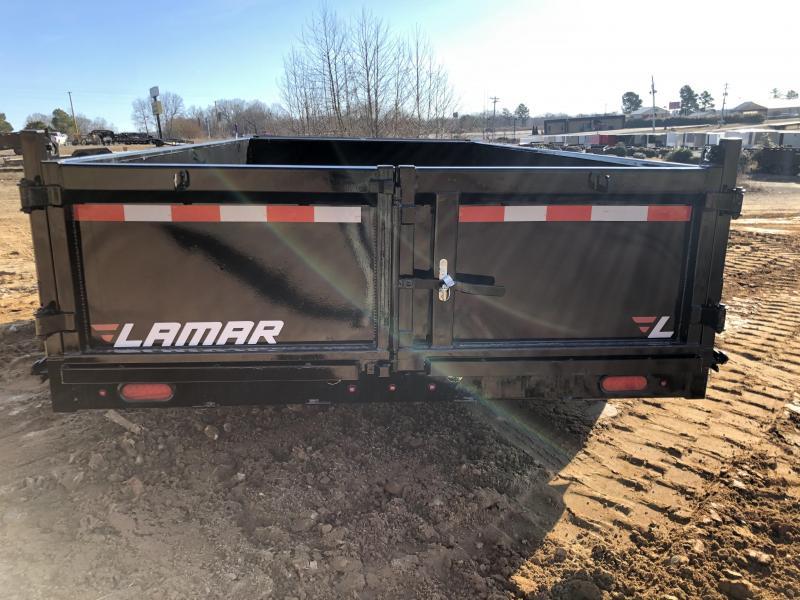 "2020 Lamar Trailers 83"" X 14' Low Pro Dump Trailer"