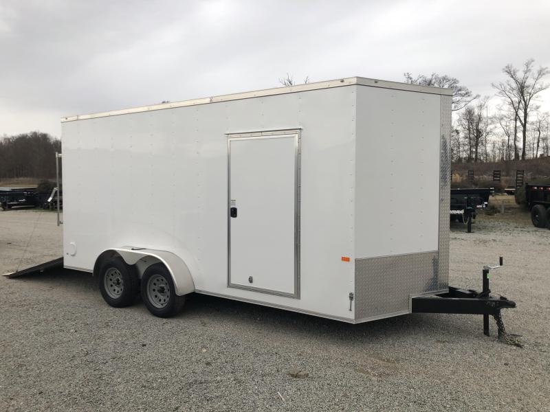 2020 Rock Solid Cargo 7' x 16' x 7' Enclosed Cargo Trailer