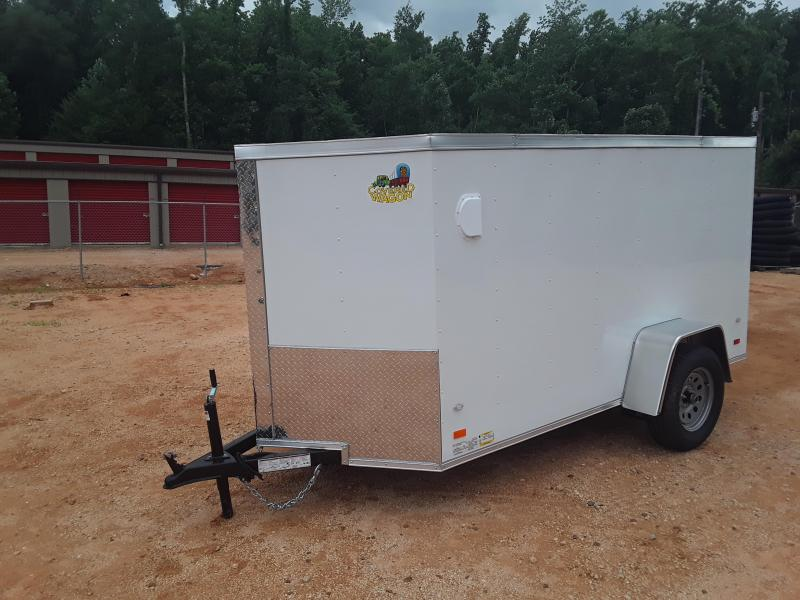 2019 Covered Wagon 5 X 10 Enclosed Cargo Trailer