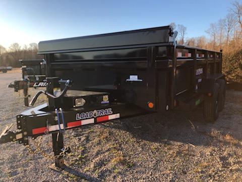 """2020 Load Trail 83"""" X 14' Tandem Axle Dump Trailer"""