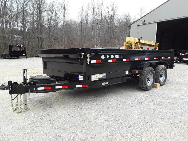 "2020 Iron Bull Dump Trailer 83"" x 14' W/ 2-7k Axles"