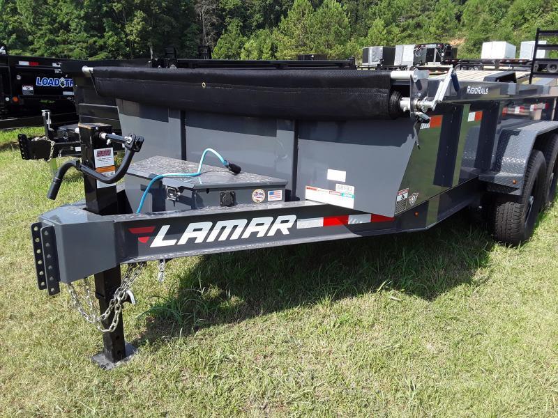 2020 Lamar Trailers 83 X 14 LOW-PRO DUMP 14K Dump Trailer