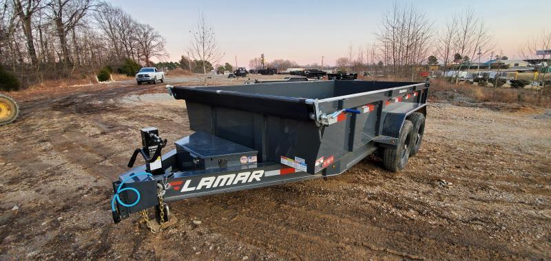 "2020 Lamar Trailers 83"" X 14' Low Pro Dump Trailer"