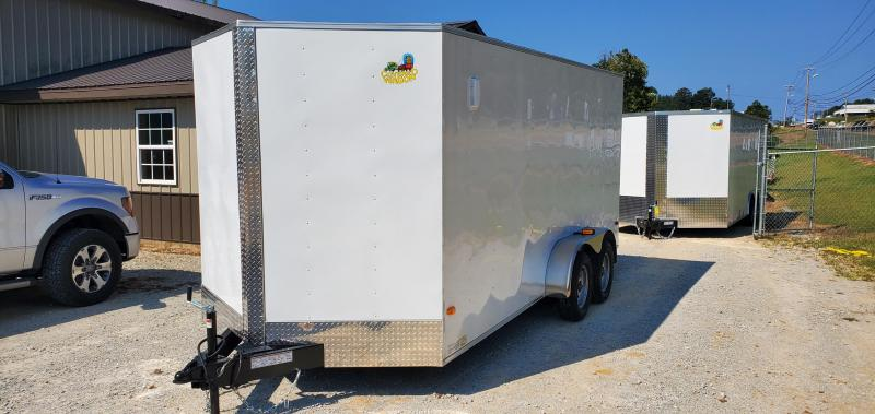 2020 Covered Wagon Trailers S-7X16 TA Enclosed Cargo Trailer
