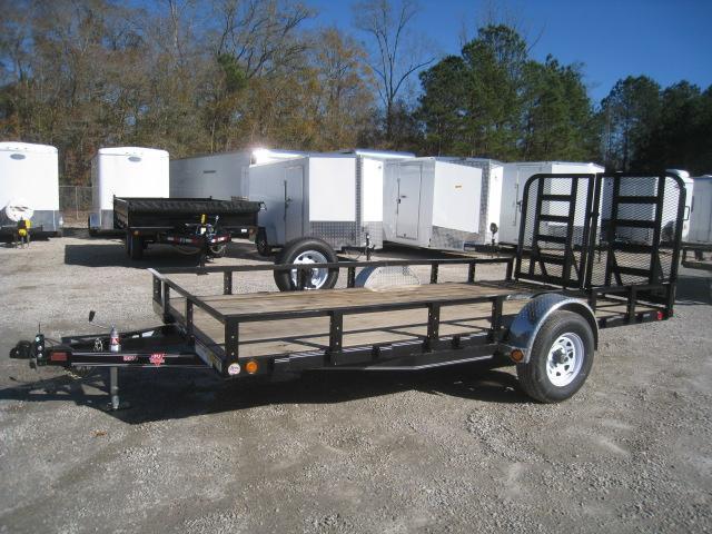 2020 PJ Trailers U8 14 x 83 Single Axle Utility Trailer