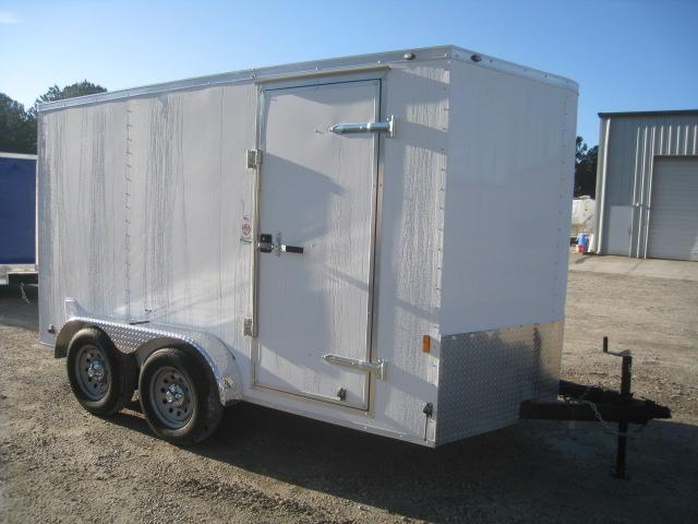 2020 Continental Cargo Sunshine 7 x 12 Vnose Enclosed Cargo Trailer