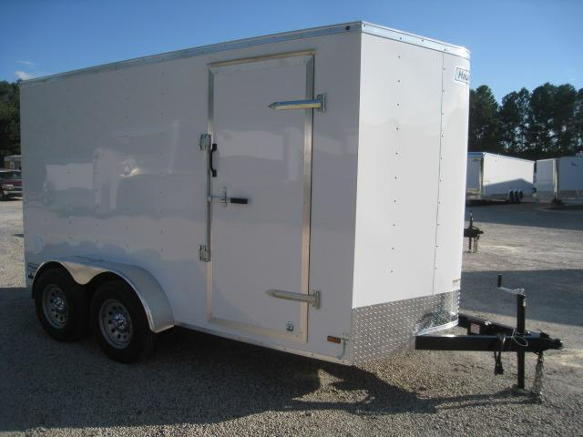 2020 Haulmark Passport 6 x 12 Vnose Tandem Axle Enclosed Cargo Trailer