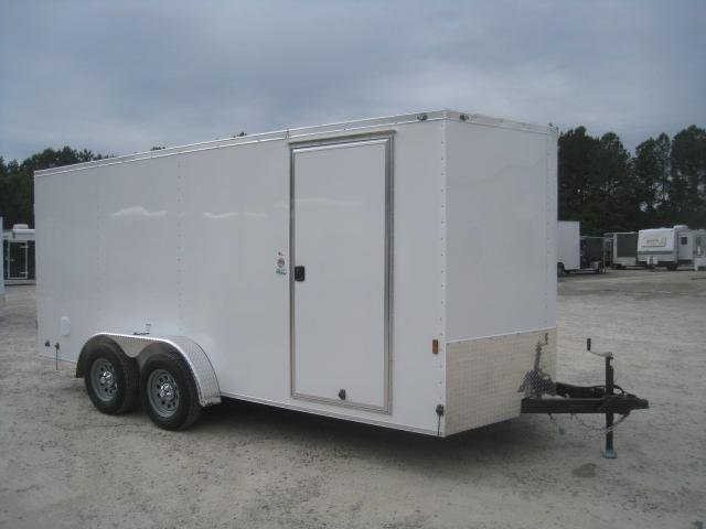 2021 Continental Cargo Sunshine 7x16 Vnose Enclosed Cargo Trailer
