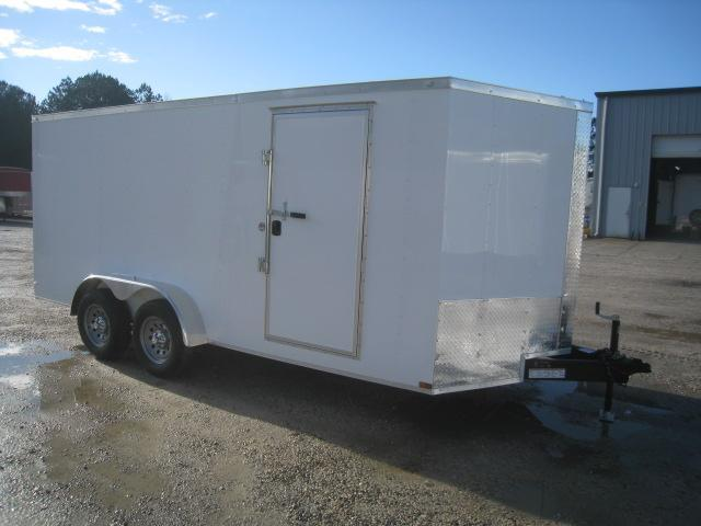 2020 Lark 7 X 16 Vnose Enclosed Cargo Trailer