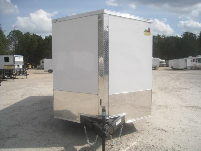 2020 Covered Wagon Trailers Gold Series 7x14 Vnose Enclosed Cargo Trailer