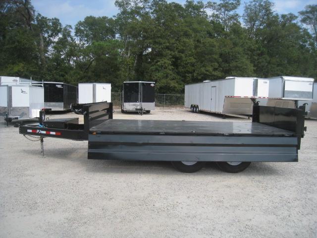 2020 PJ Trailers D8 14 x 96 Deckover Dump Trailer