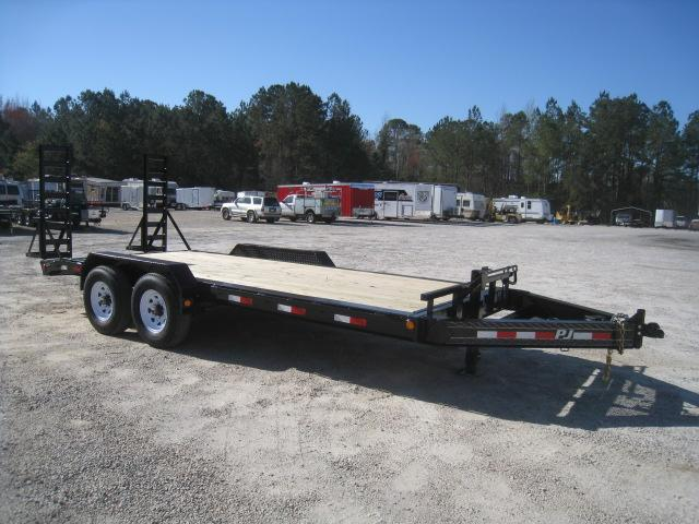 2020 PJ Trailers H4 Pro Beam 18' Equipment Trailer with 8K Axles
