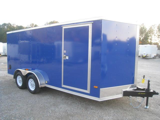 2020 Covered Wagon Trailers 7 X 16 Vnose Enclosed Cargo Trailer