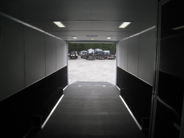 2019 Look Trailers Vision 28' Black Loaded Car / Racing Trailer
