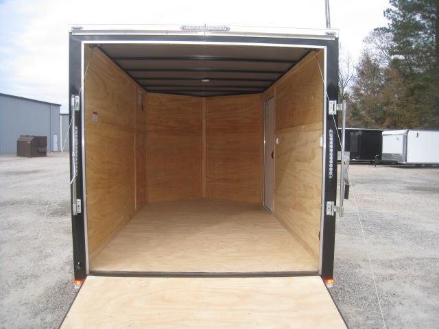 2020 Lark 7 X 12 Vnose Enclosed Cargo Trailer