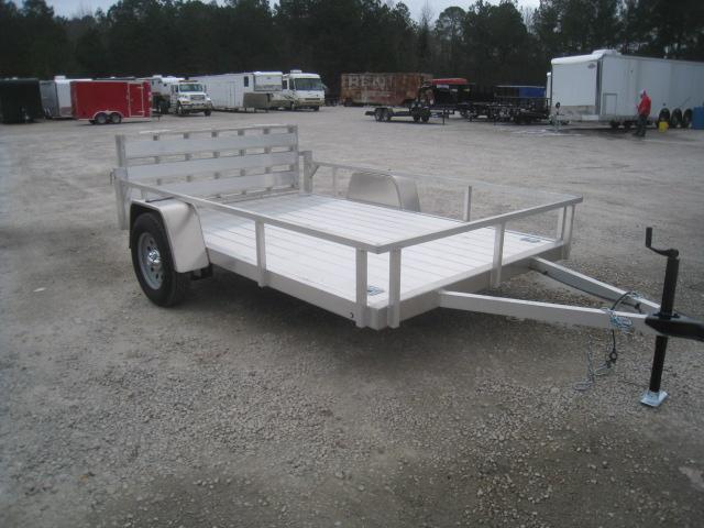 2019 Continental Cargo Rough Rider 6.5' x 10' Aluminum Utility Trailer