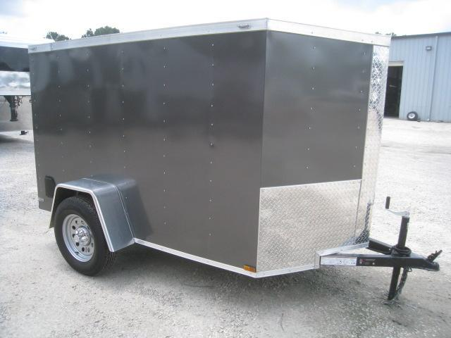 2019 Lark 5 X 8 Vnose Enclosed Cargo Trailer