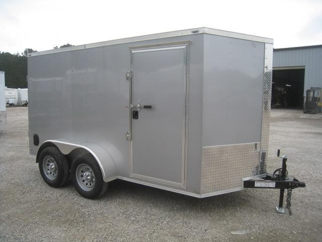 2020 Lark 6 X 12 Vnose Tandem Axle Enclosed Cargo Trailer