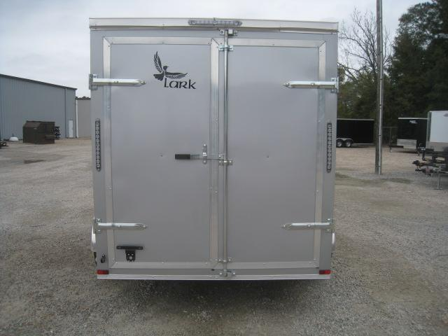 2020 Lark 6 X 12 Vnose Tandem Axle Enclosed Cargo Trailer