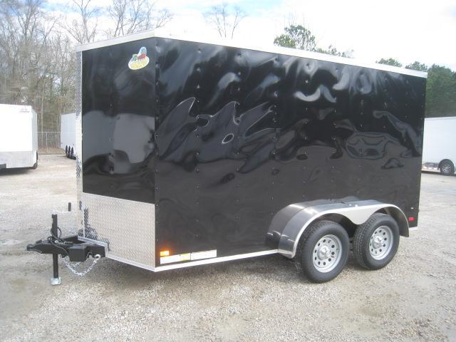2020 Covered Wagon Trailers Gold Series 6 x 12 Tandem Axle Enclosed Cargo Trailer
