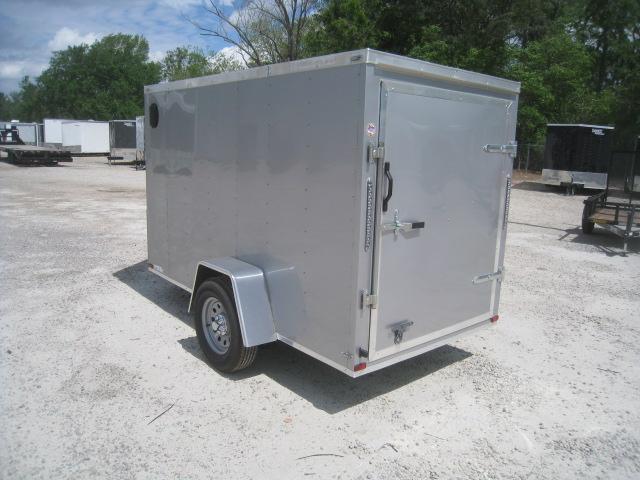 2019 Lark 5 X 10 Vnose Enclosed Cargo Trailer