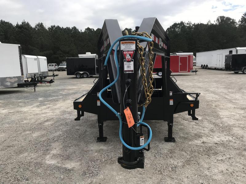 2020 PJ Trailers LD 27 +5 Gooseneck Deckover Equipment Trailer