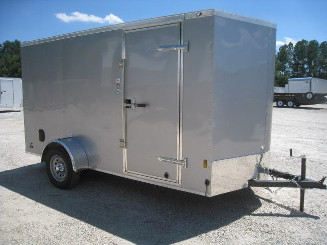 2020 Continental Cargo Sunshine 6 x 12 Vnose with Ramp Door