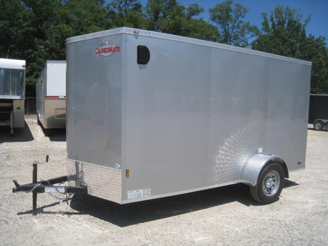 2020 Continental Cargo Sunshine 6 x 12 Vnose with Ramp Door