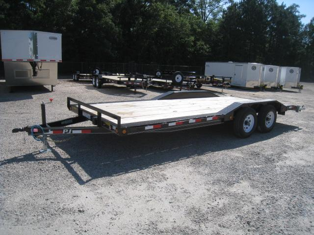 2019 PJ Trailers B5 Superwide Buggy Hauler 20' with Drive Over Ramps