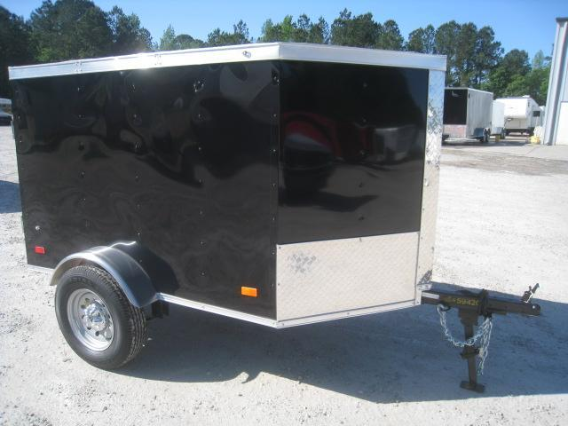 2020 Covered Wagon Trailers Gold Series 4 x 6 Enclosed Cargo Trailer