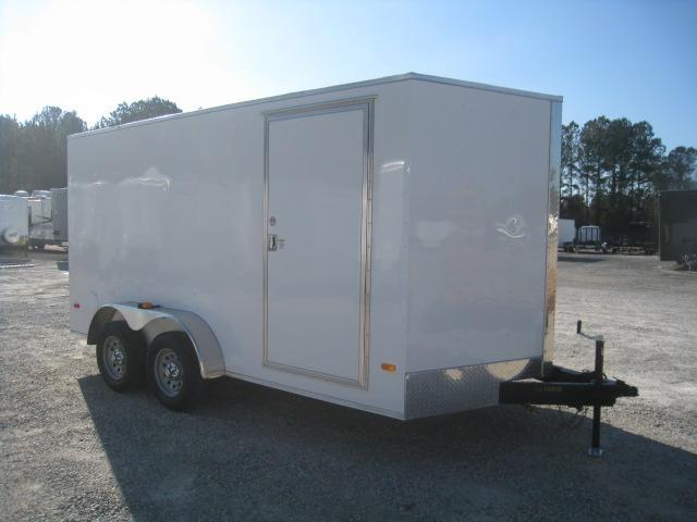 2020 Covered Wagon Trailers 7 X 14 Vnose Enclosed Cargo Trailer