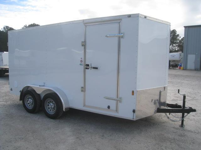 2020 Continental Cargo Sunshine Vnose Enclosed Cargo Trailer with Double Rear Doors