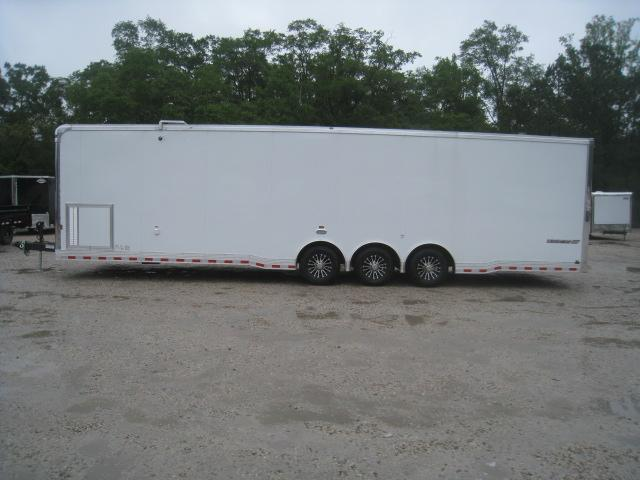 2021 Cargo Mate Eliminator SS 34' Car / Racing Trailer with Dragster Bracing