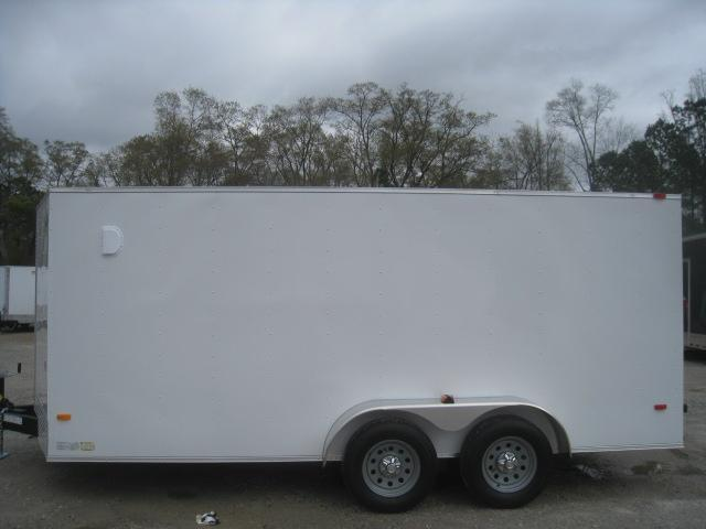 2020 Covered Wagon Trailers Silver Series 7x16 Enclosed Cargo Trailer